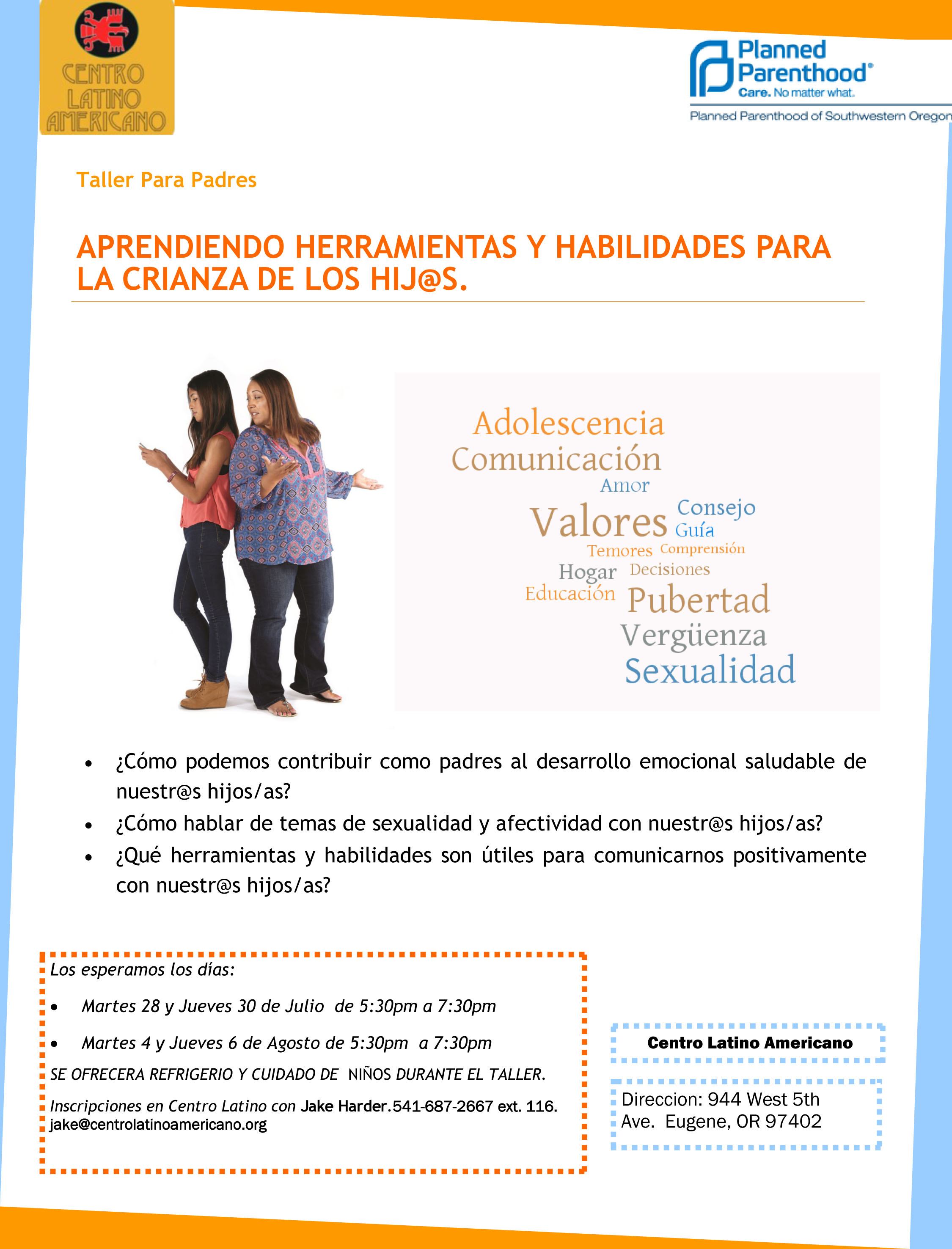 20150710 FINAL Flyer Parent Session Sex ed Coaching (2)